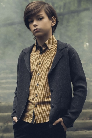 Пиджак для мальчика Noble People (Россия) Серый