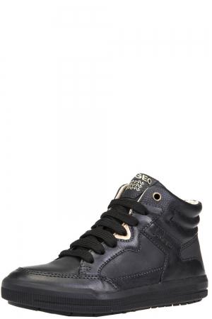 4d6c70cebdc Ботинки для девочки Geox (Италия) Чёрный
