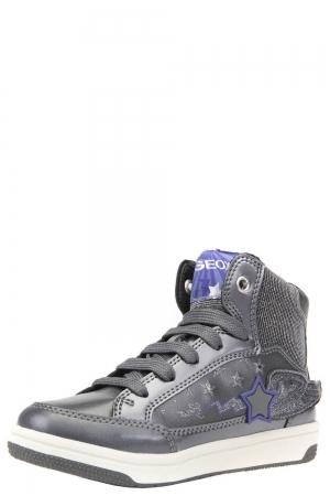 ec0f15fce1b Ботинки для девочки Geox (Италия) Серый
