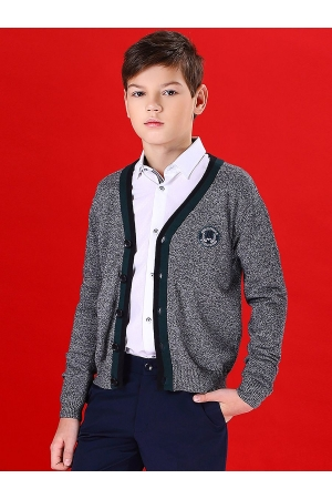 Кардиган для мальчика Noble People (Россия) Серый